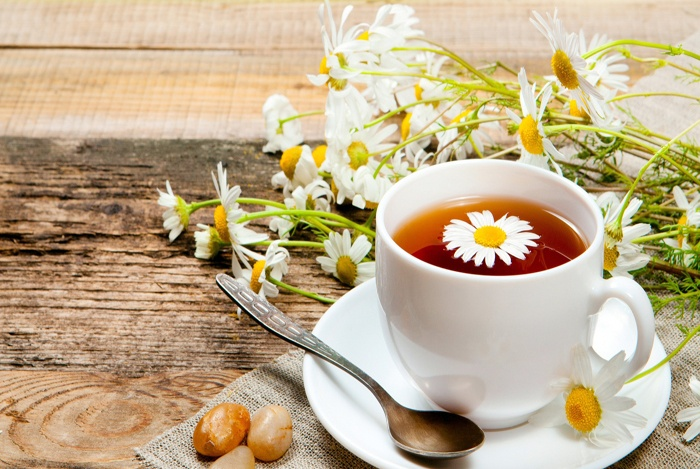 home remedies for bloated stomach Chamomile Tea