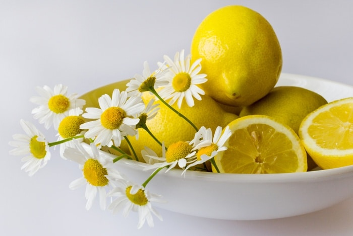 home remedies for bloated stomach Warm Lemon Water