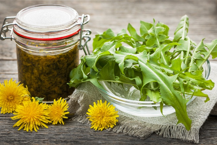 home remedies for bloated stomach dandelion