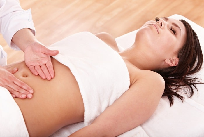 home remedies for bloated stomach massage