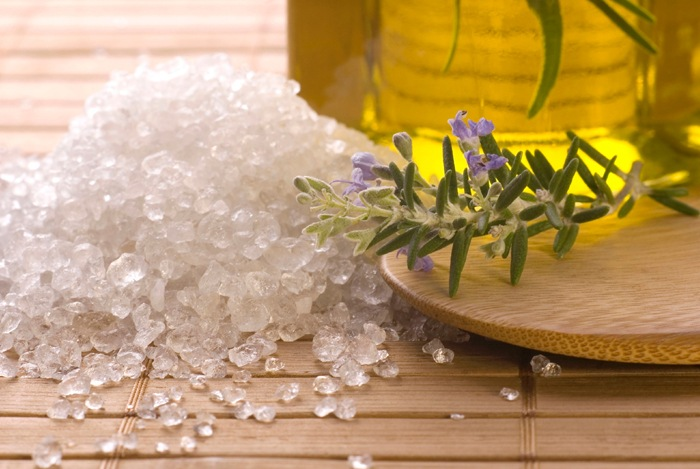 home remedies for calluses Sea salt