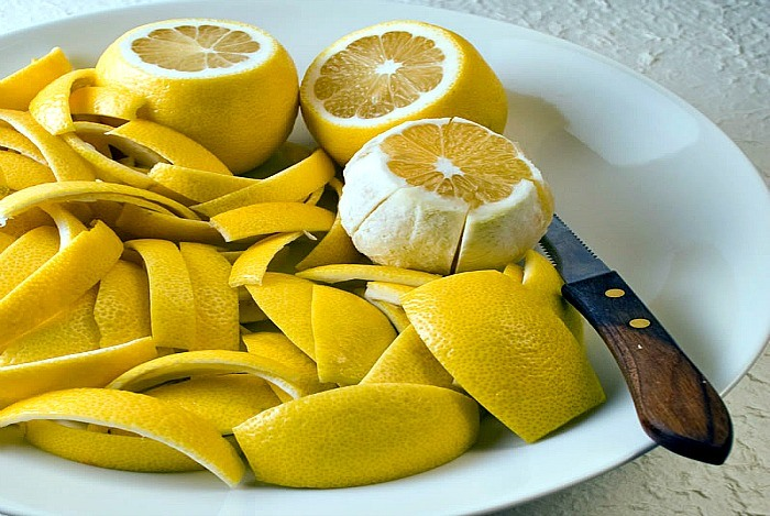 home remedies for calluses lemon peel