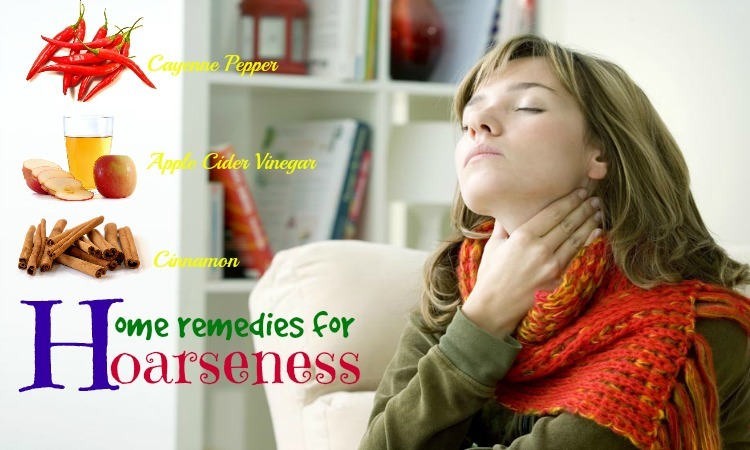 home remedies for hoarseness