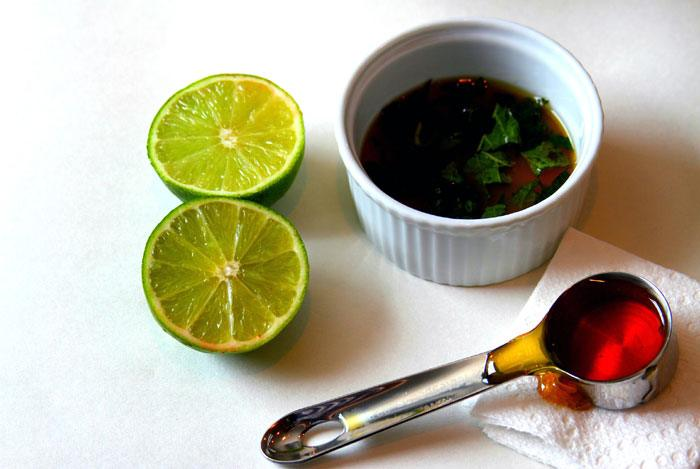 home remedies for pimples Honey And Lime Juice