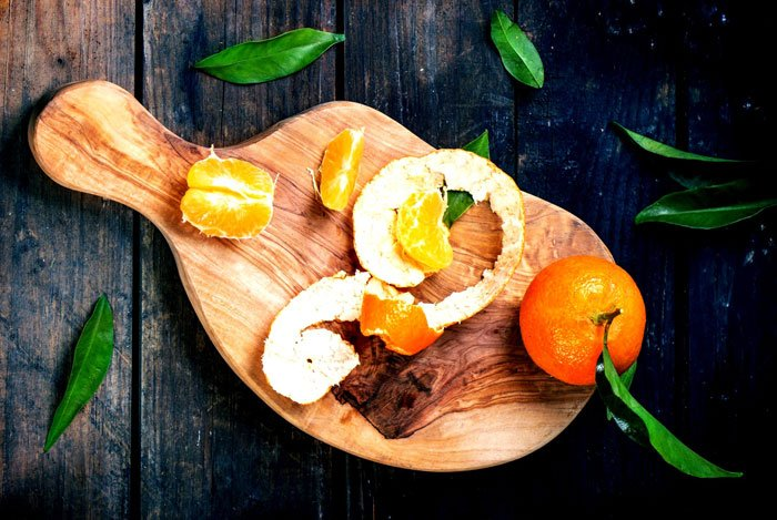 home remedies for pimples Orange Peel Paste