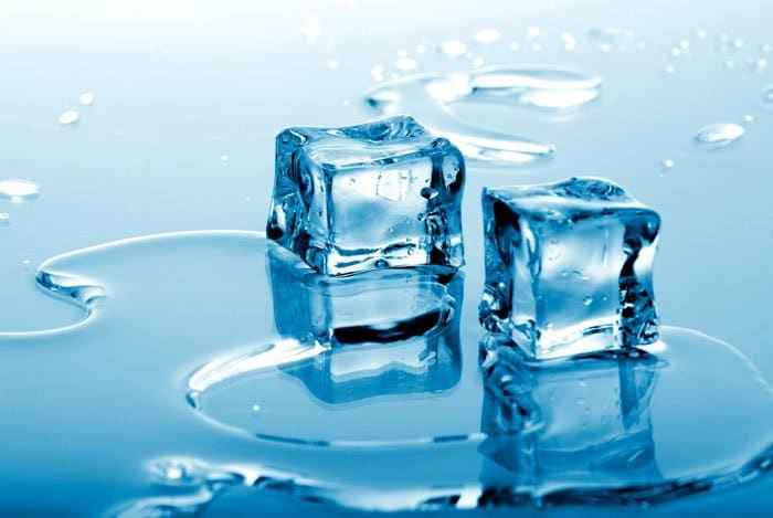 home remedies for pimples ice
