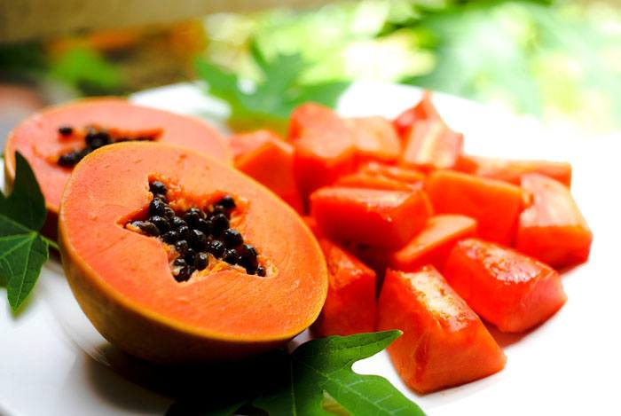 home remedies for pimples papaya