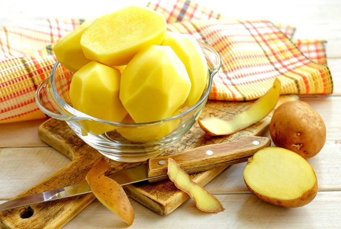 home remedies for pimples potato