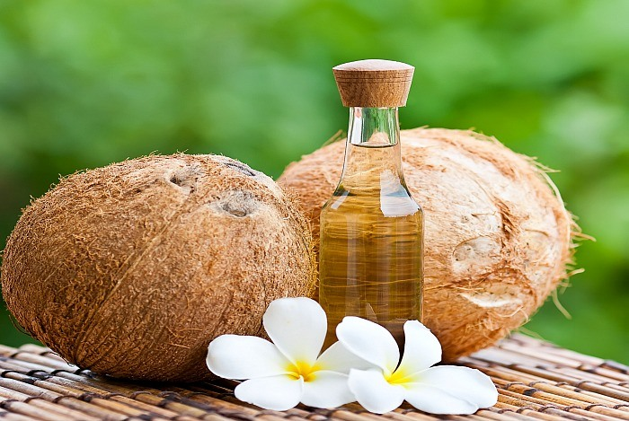 home remedies for shiny hair coconut oil