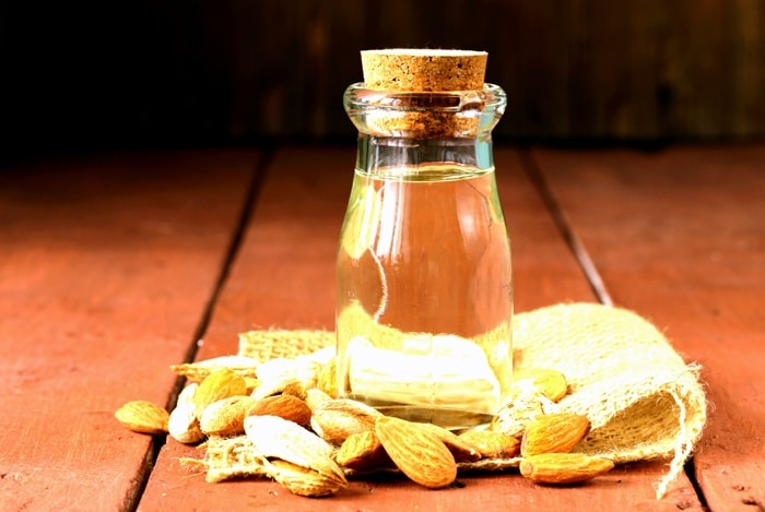home remedies for shiny hair Sweet Almond Oil