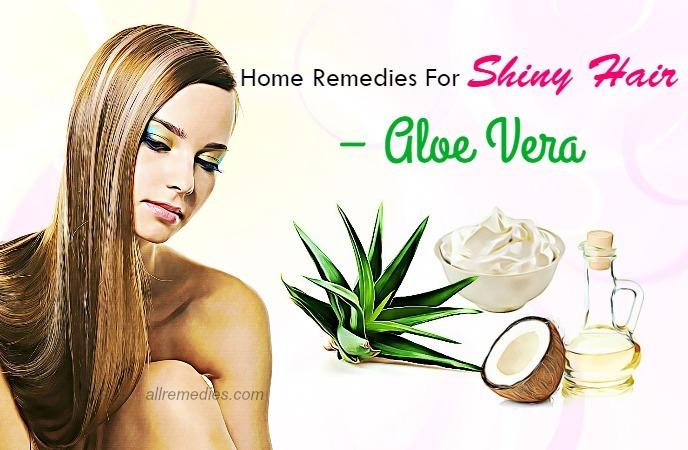 home remedies for shiny hair