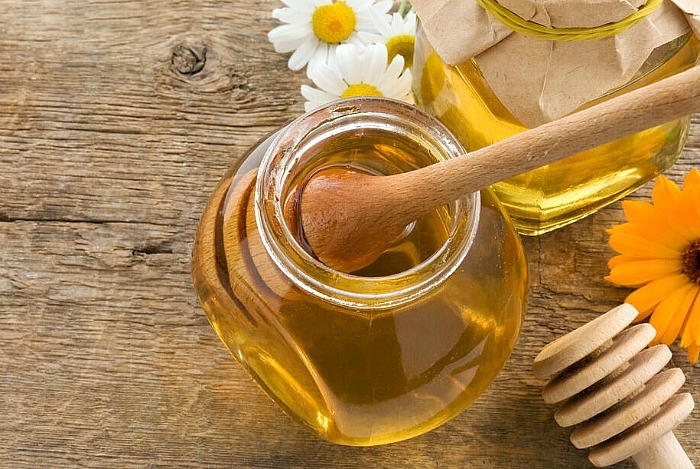 home remedies for shiny hair honey