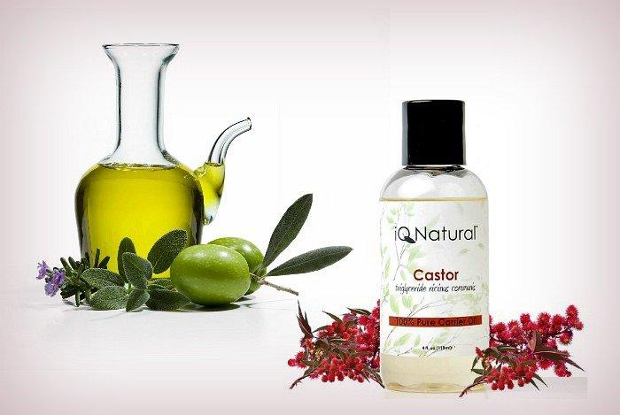 Castor oil and olive oil1