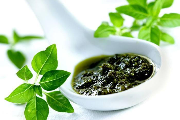 home remedies for dandruff Basil Leaves