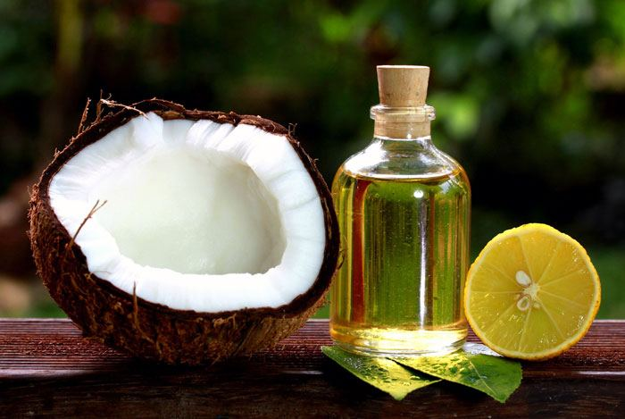 home remedies for dandruff Coconut Oil and Lemon Juice