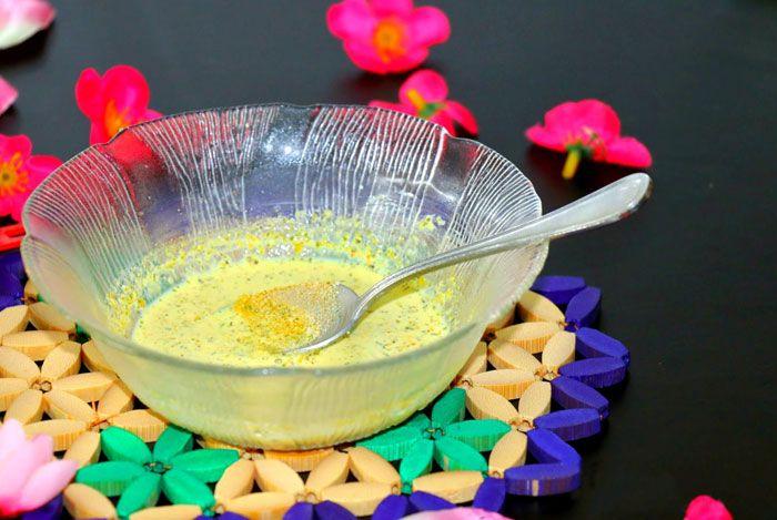 home remedies for dandruff Gram flour