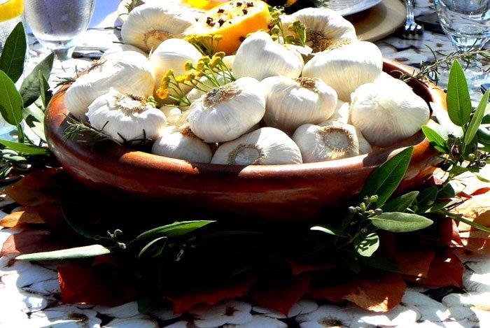 home remedies for swollen glands garlic