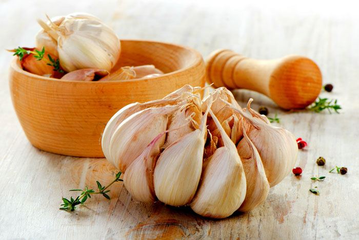 home remedies for swollen lymph nodes garlic