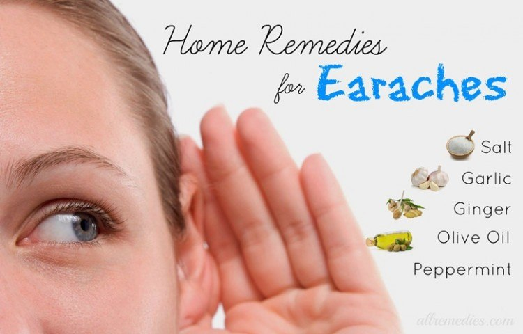 home remedies fof earaches