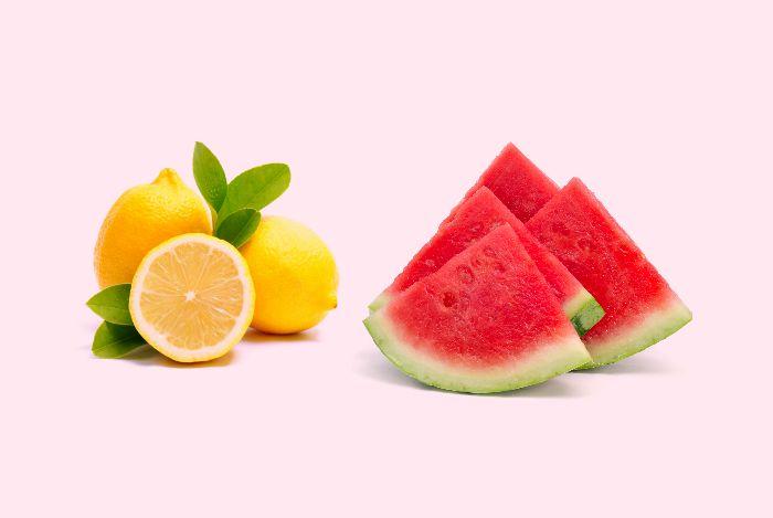 Watermelon and lemon natural viagra