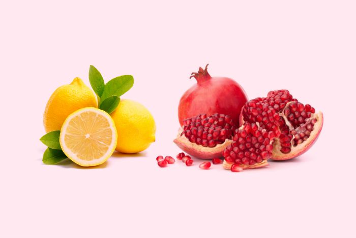 Pomegranate-Citrus Juice Recipe — Dishmaps