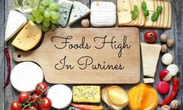 foods high in purines