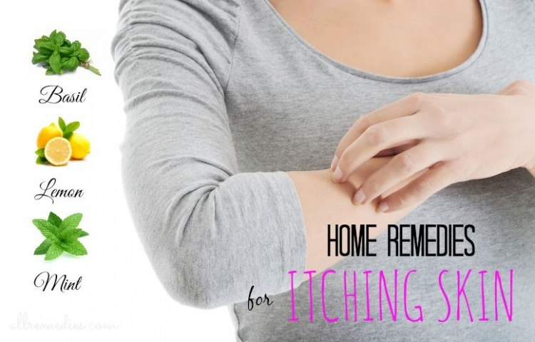 home remedies for itching skin