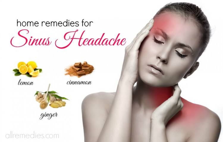 Home Remedies For Sinus Pain In Forehead
