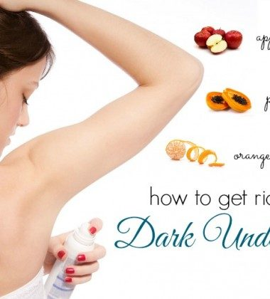 How To Get Rid Of Dark Underarms Naturally Fast