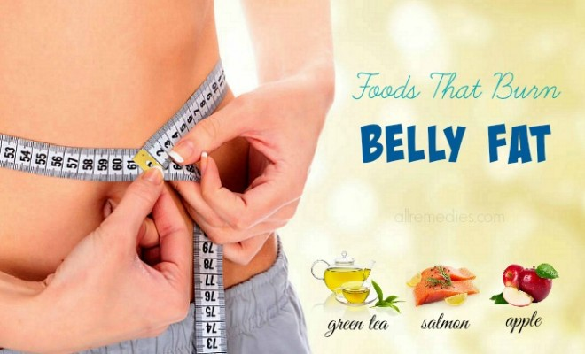 Top 10 foods that burn belly fat naturally and quickly