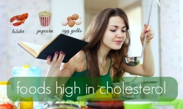 foods high in cholesterol