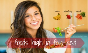 foods high in folic acid