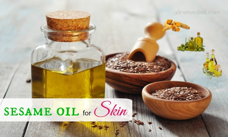 sesame oil for skin