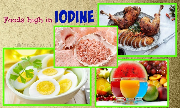 foods high in iodine