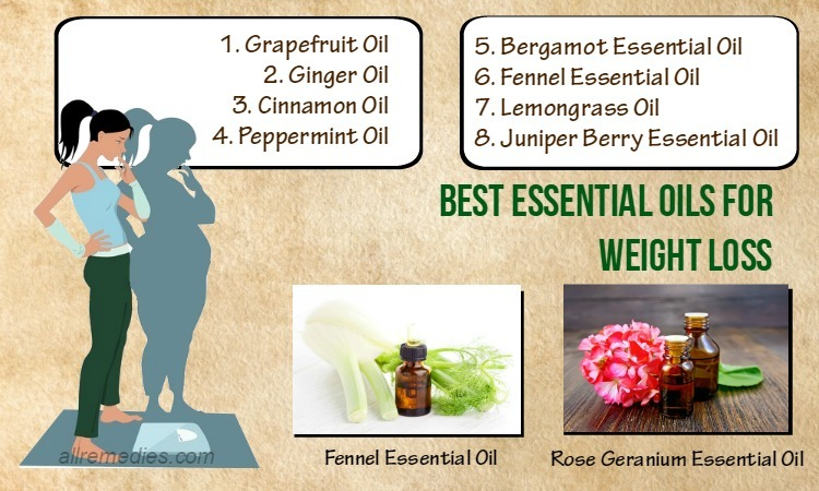 23 Best Essential Oils For Weight Loss