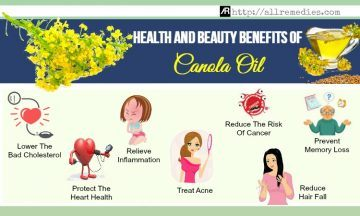 benefits of canola oil