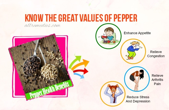 pepper health benefits