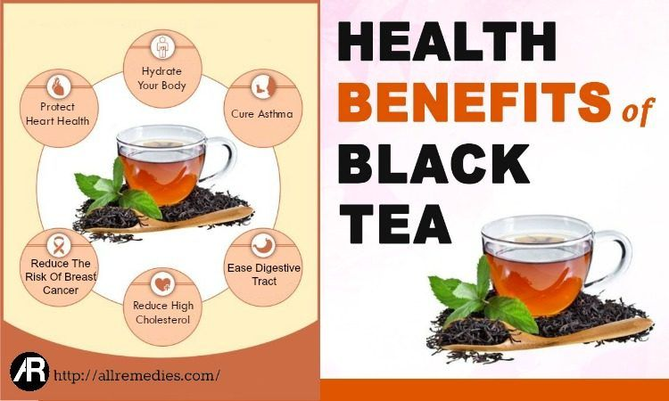 Advantages Of Drinking Black Tea