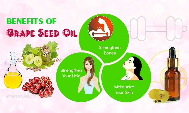 benefits of grape seed oil