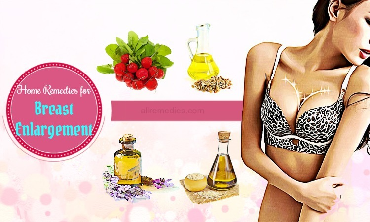 Top 7 Trusted Home Remedies For Breast Enlargement