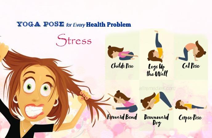 yoga pose for every health problem