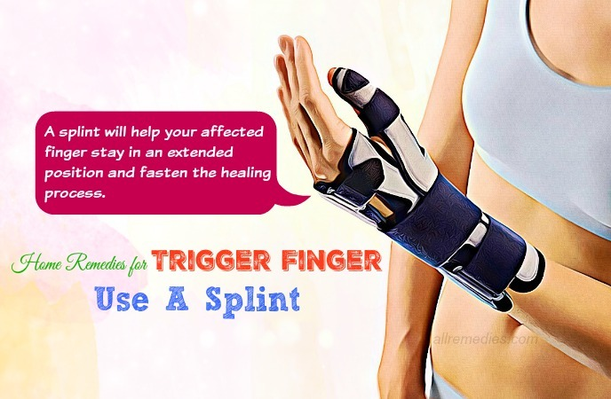 home remedies for trigger finger