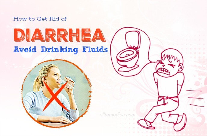 how to get rid of diarrhea