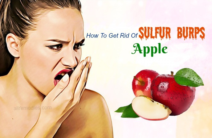 how to get rid of sulfur burps