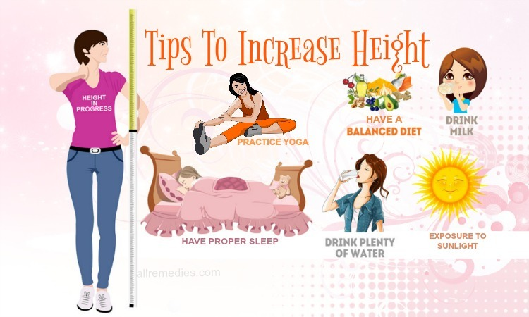 tips to increase height