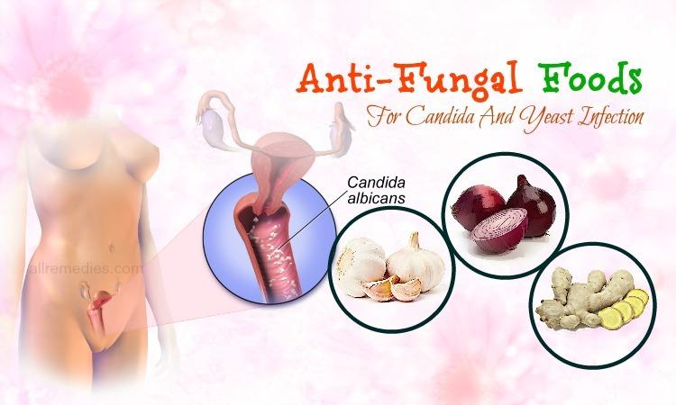 anti-fungal foods