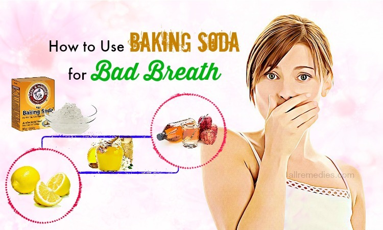 baking soda for bad breath