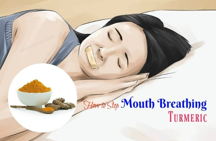 how to stop mouth breathing
