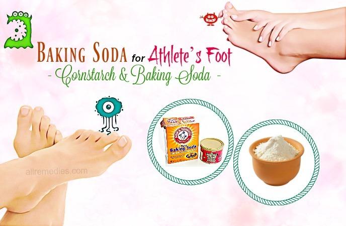 baking soda for athletes foot