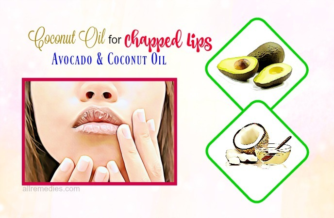 coconut oil for chapped lips